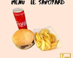 Menu burger - Le savoyard