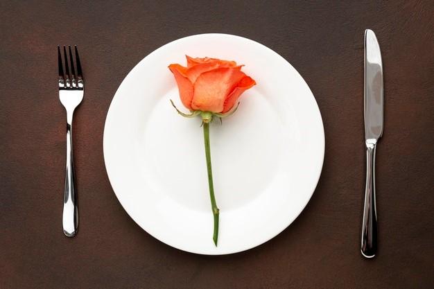 Menu de la St-Valentin pour le dimanche 14 fevrier 2021 25.00€/personne